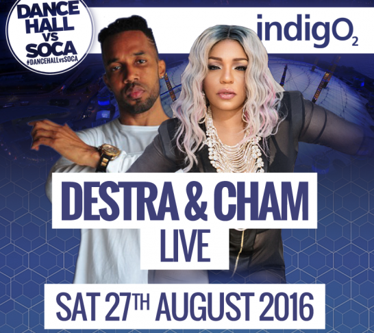 Dancehall vs Soca London | Destra x Cham Live | Carnival Saturday