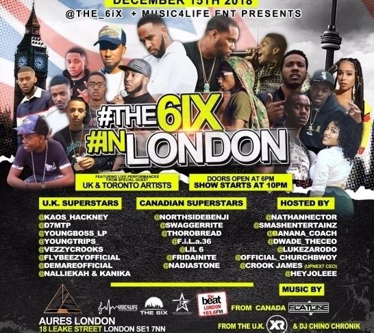 The 6ix In London