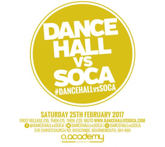 Dancehall vs Soca Bournemouth
