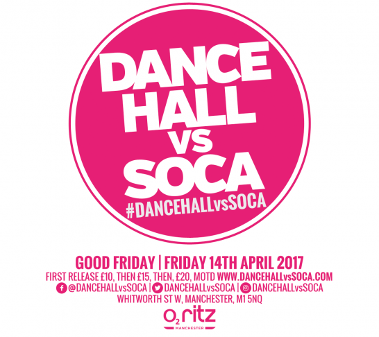 Dancehall vs Soca Manchester | Good Friday