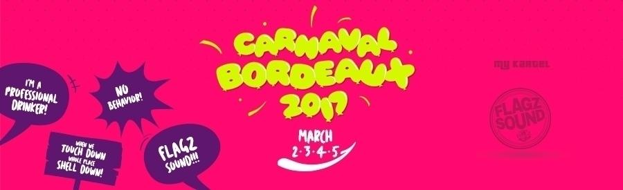 BORDEAUX CARNIVAL ★ My Kartel & Flagz Soca Fete