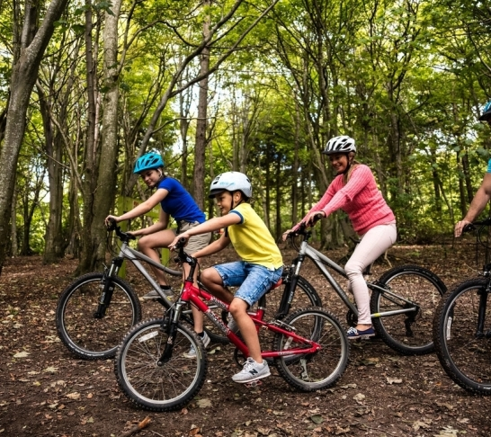 Guided Family Cycle Ride