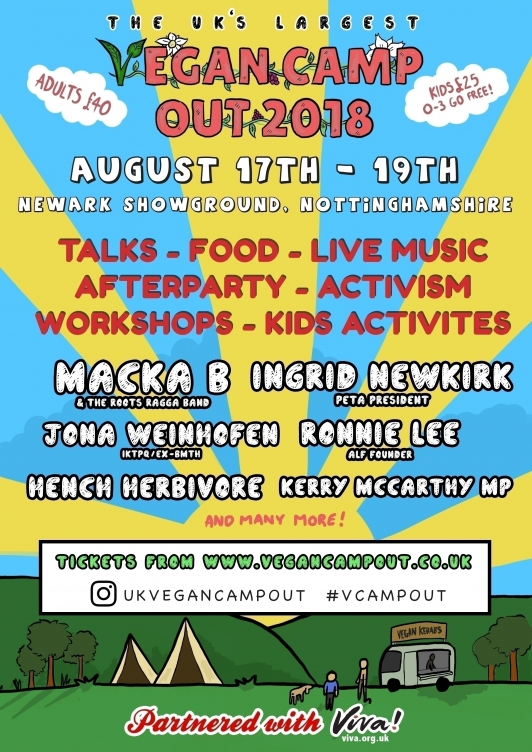UK Vegan Camp-Out 2018 @ Nottingham | Winthorpe | England | Reino Unido
