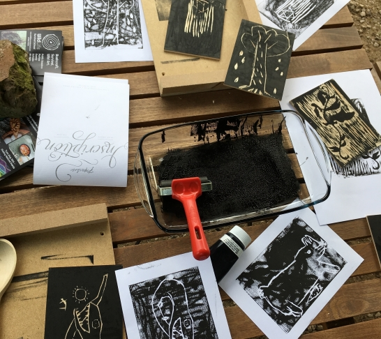 Wild Art @ Dudmaston - Block Carving and Printing - Age 7+