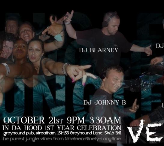 Jungle Vets Presents ....... Jungle In Da Hood 1st Birthday Celebration