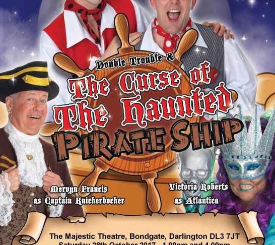 Double Trouble & The Curse Of The Haunted Pirate Ship