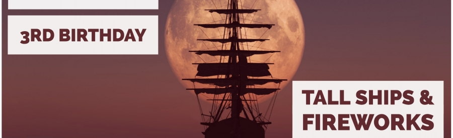 #SocaBrunchLate: Tall Ships + Fireworks Birthday Special