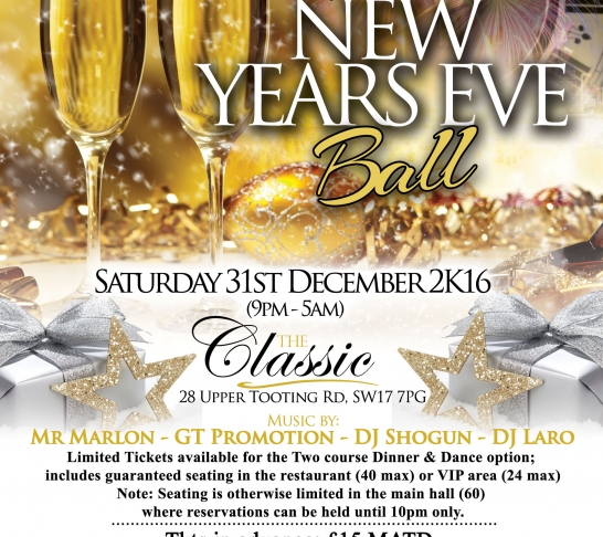The Immaculate New Year's Eve Ball