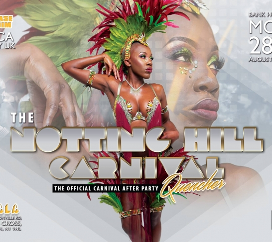 Notting Hill Carnival Quencher - The Official Carnival After Party