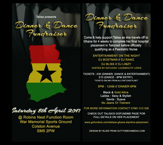 Talisa's Dinner & Dance Fundraiser