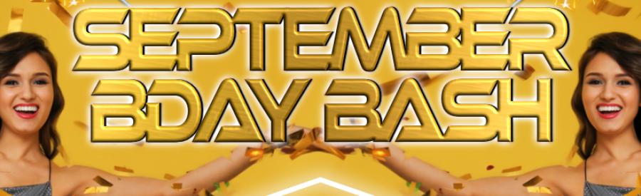 Remix Saturdays- SEPTEMBER BDAY BASH!