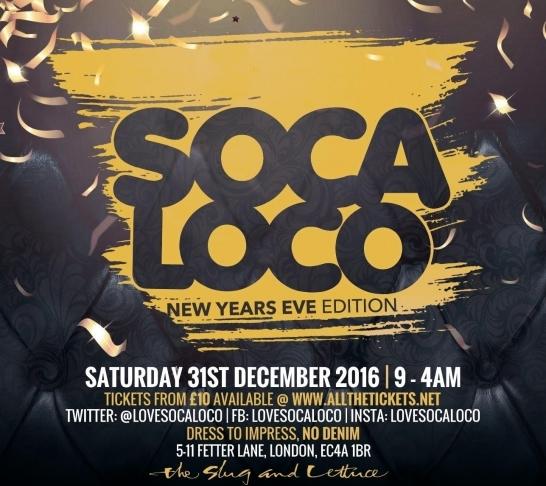 Soca Loco - New Years Edition