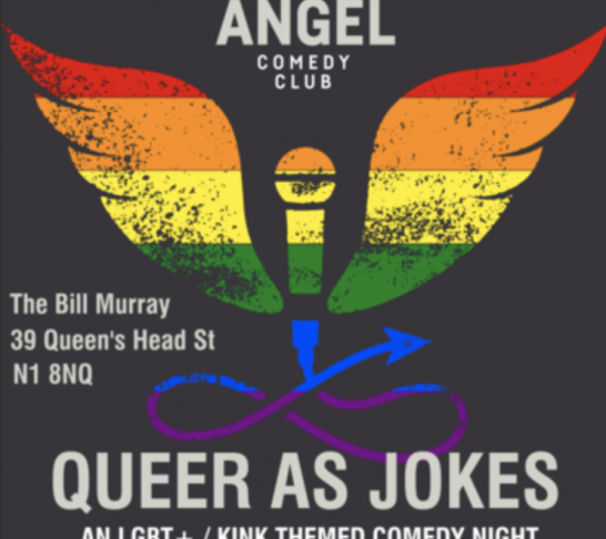 Queer as Jokes - May 2018 - Anti-Royal Wedding after party!