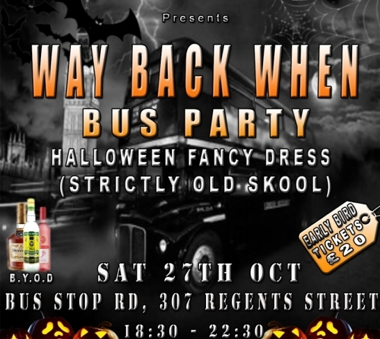 Way Back When - Bus Party