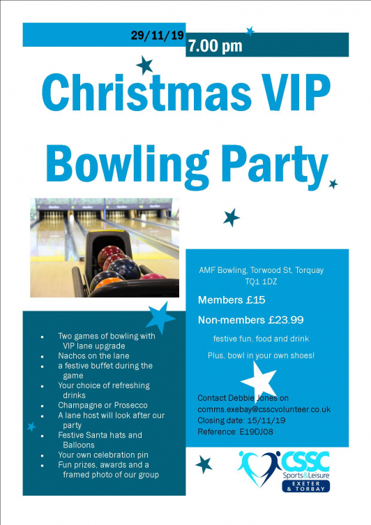 Christmas VIP Bowling Party