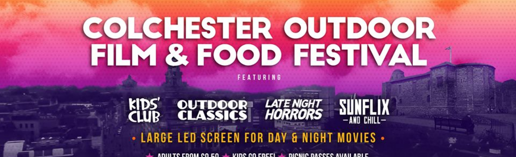 Outdoor Film & Food Festival - Colchester