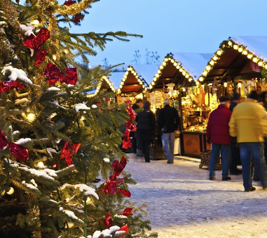 Visit to Chatsworth House & Christmas Market