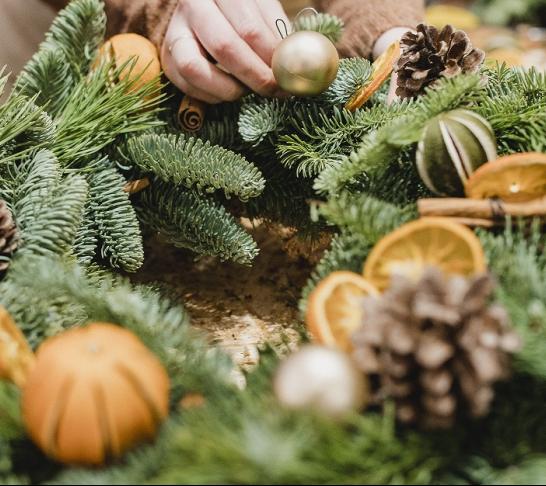 Centenary Event | Christmas wreath making workshop
