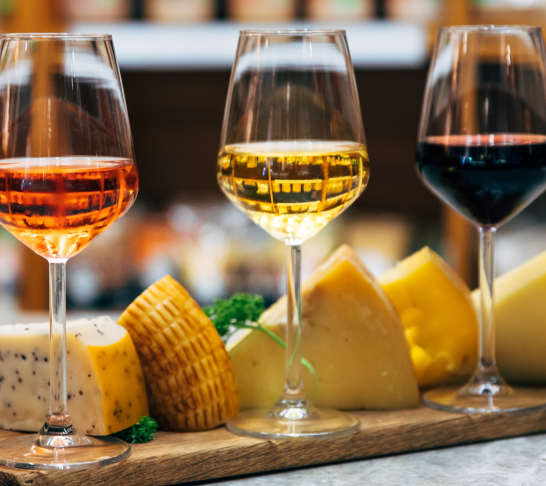 Virtual Event | Cheese and Wine Tasting
