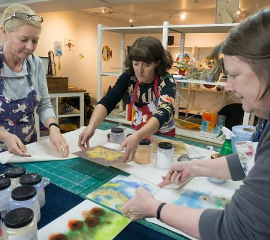 Glass Monkey -  fused glass workshop Burnley