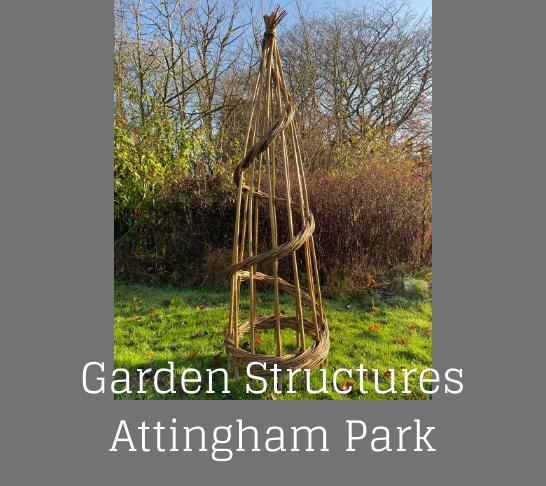 Garden Basketry Workshop - Willow Obelisks
