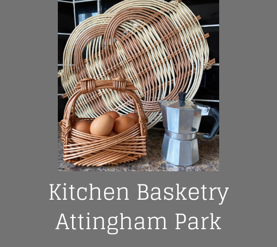 Kitchen Basketry - Egg baskets and platters