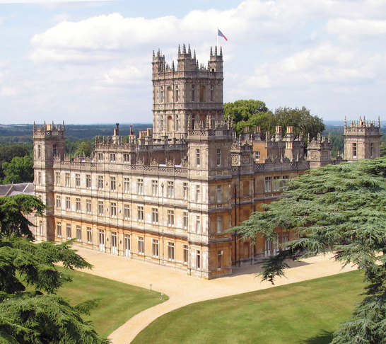 Visit to Highclere Castle from Norwich