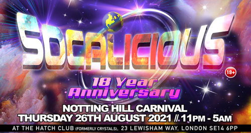 """Socalicious """"The 18th Year Anniversary"""""""