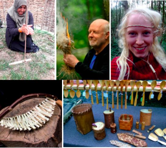 Excellence in Woodland - Hazel Splint Basketry
