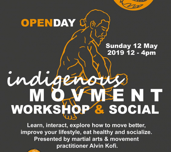 Indigenous Movement Workshop & Social Event