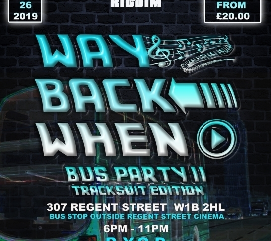 Way Back When - Bus Party (2nd Stop - Tracksuit Edition)