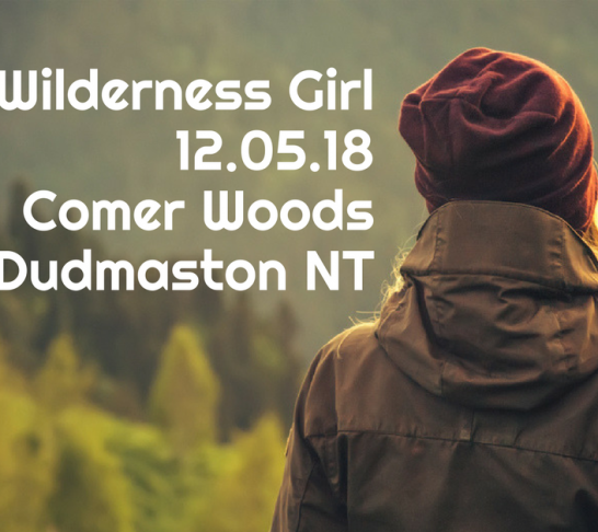 Wilderness Girl Event - Comer Woods on the Dudmaston Estate