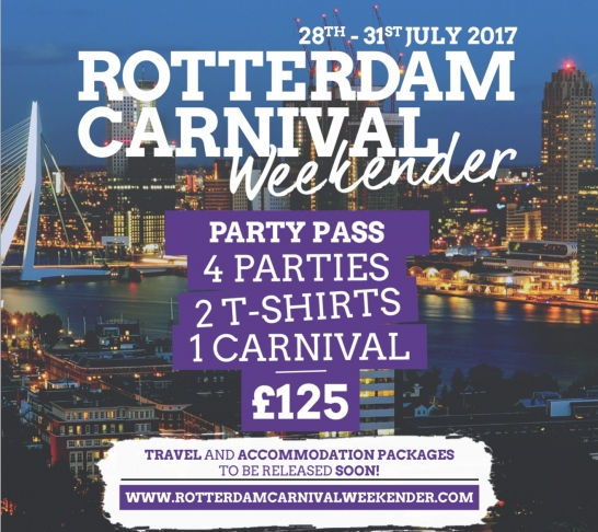 Rotterdam Carnival Weekender