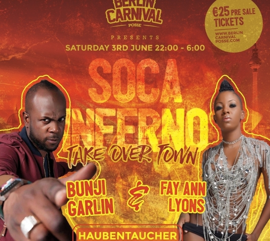 Soca Inferno - We Come To Takeover Town