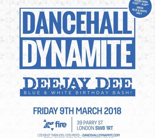Dancehall Dynamite : Deejay Dee's Birthday Bash