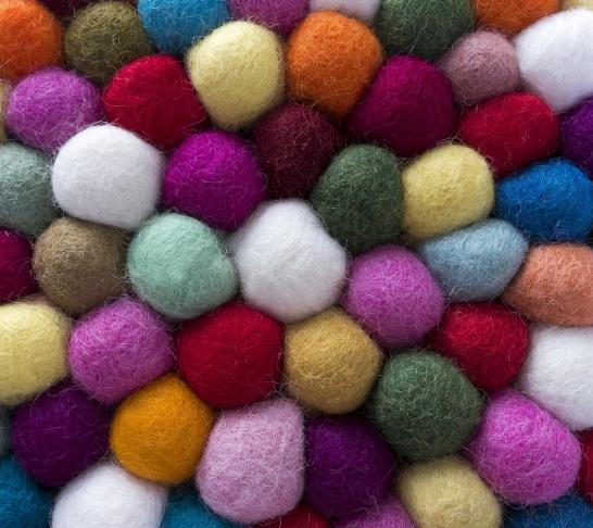 Craft kit - ragged heart garland