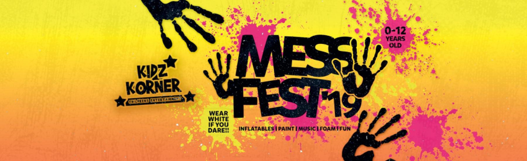 Mess Fest 2019 : The UK's #1 Kid's Messy Festival