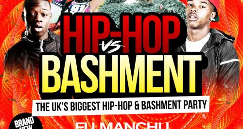 Hip-Hop vs Bashment Party