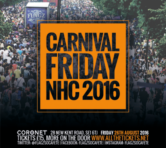Carnival Friday NHC 2016