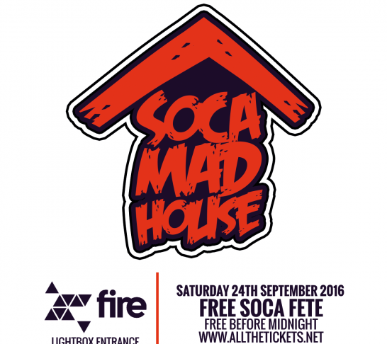 Soca Madhouse London - Free Soca Fete