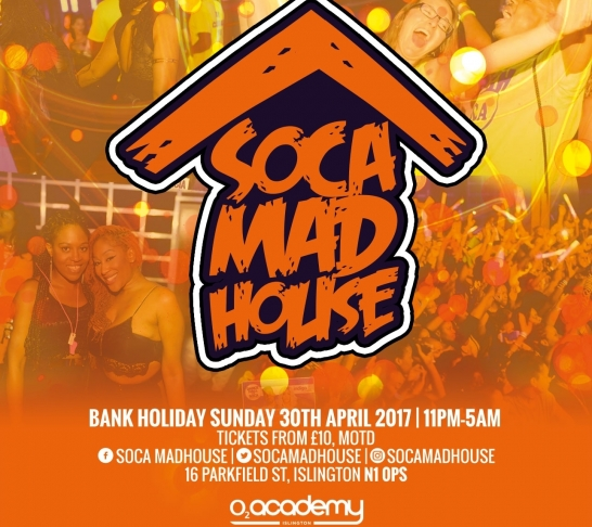 Soca Madhouse London