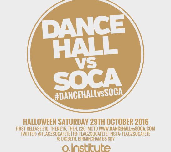 Dancehall vs Soca Birmingham | Halloween Special