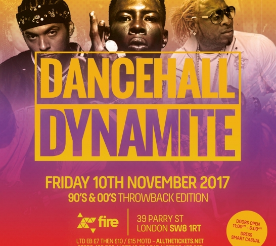 Dancehall Dynamite : 90s & 00s Throwback Edition