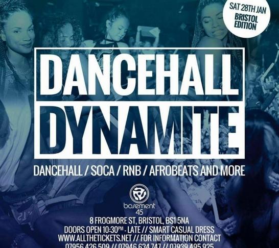 Dancehall Dynamite | Bristol Edition