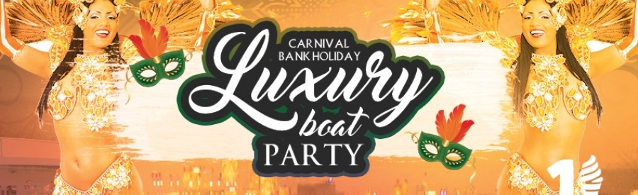 Carnival Bank Holiday Sunset Boat Party