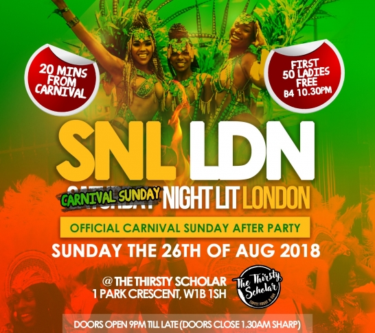 SNL OFFICIAL CARNIVAL AFTERPARTY 2018