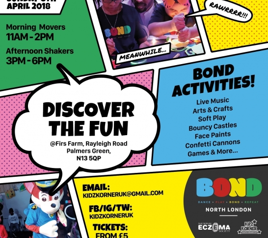 BOND North London : Child & Adult Play Sessions