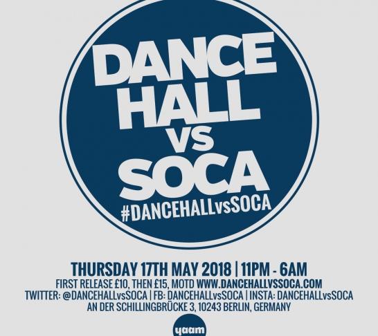 Dancehall vs Soca Berlin : Carnival Thursday