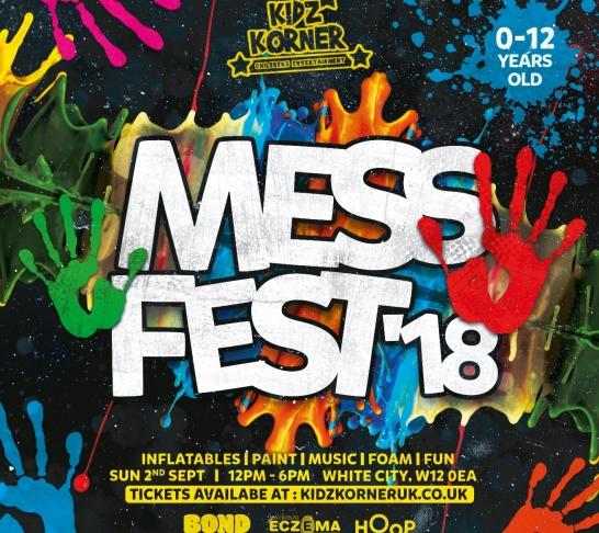 Kidz Korner Mess Fest '18