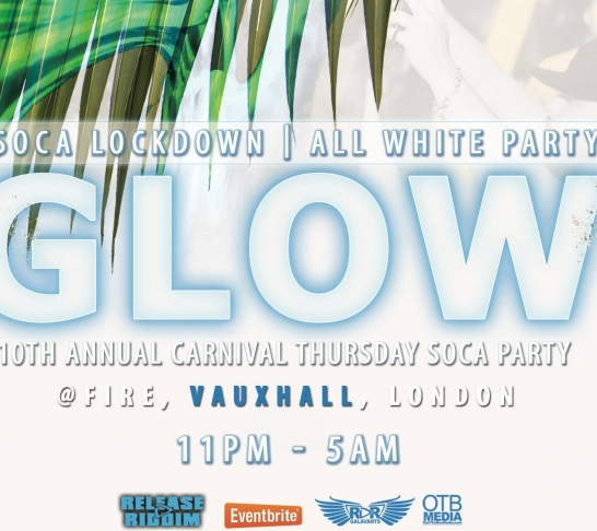 Soca Lockdown - GLOW - All White Party